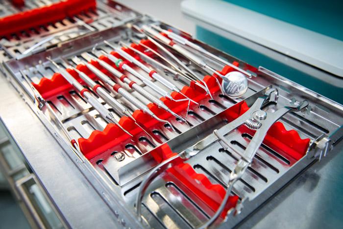 Kit strumenti sterili